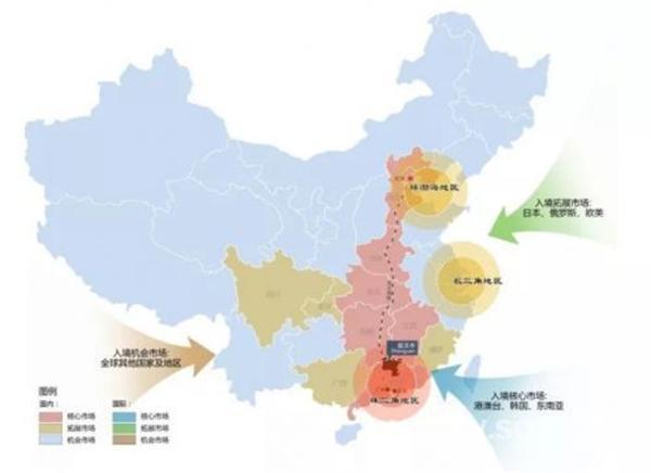 韶關旅游市場定位圖 來源:《韶關市旅游產業發展規劃(2015&mdash圖片